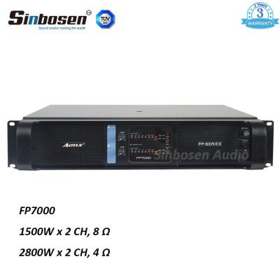 Sinbosen FP7000 1500watt 2 canali professionale modulo estremo interruttore di alimentazione amplificatore professionale