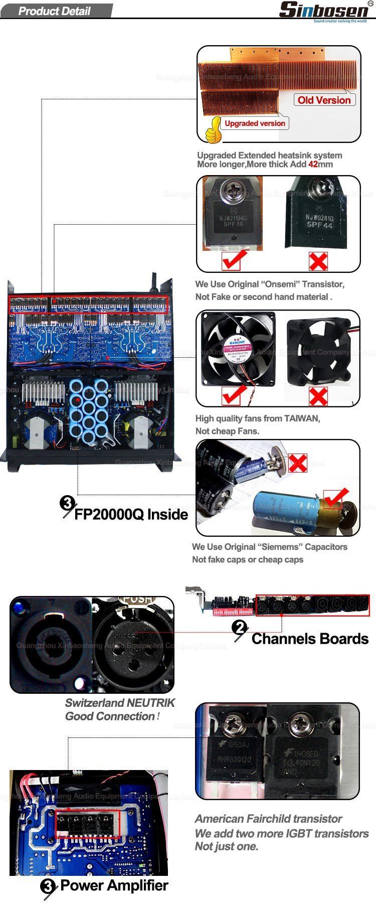 FP20000Q Leistungsverstärker