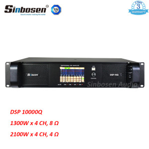 2018 newest High quality 4 channel 1300w DSP FP10000q module power amplifier DSP10000q