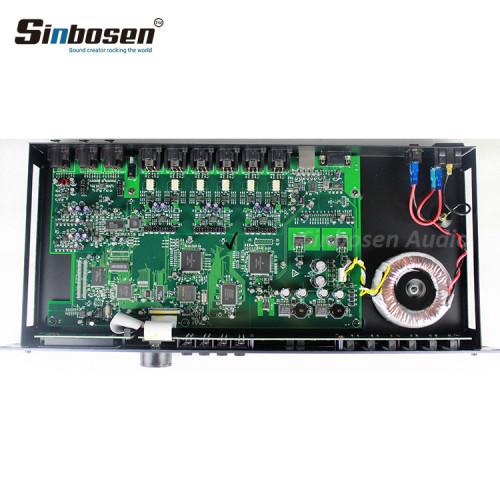 Dźwięk wysokiej jakości 2 W 6-kanałowym profesjonalnym cyfrowym procesorze dźwięku BDX 260