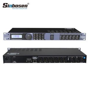 Sonido de alta calidad 2 en 6 karaoke profesional Procesador digital de audio BDX 260