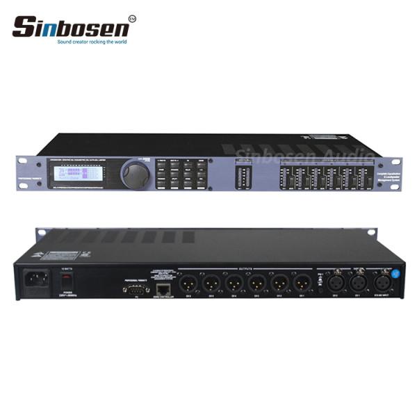 Suono di alta qualità 2 In 6 processori digitali audio professionali BDX 260 con karaoke out