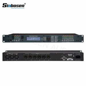 Ashely 3 en 6 salidas 24 bits de sonido en vivo Controlador de cruce Sistema Procesador Digital 3.6SP