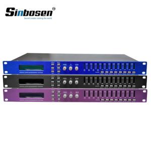 Двойная точность 4 входа 8 выход DSP караоке цифровой звуковой процессор DP480 / DP448