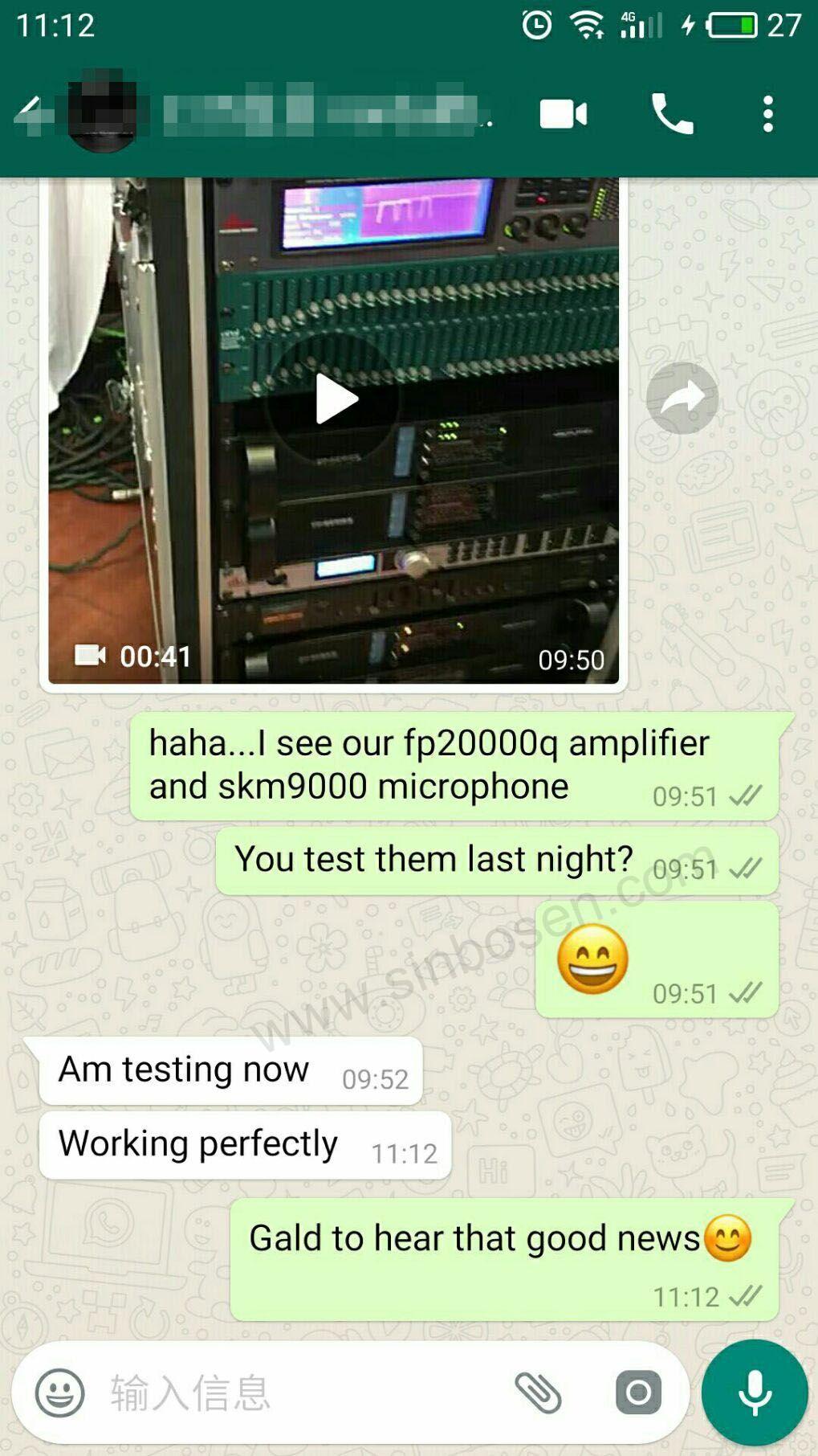 Sinbosen FP20000Q