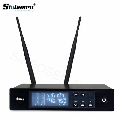 Sistema de micrófono de mano inalámbrico digital UHF QLXD4 + QLXD2 / SM-58