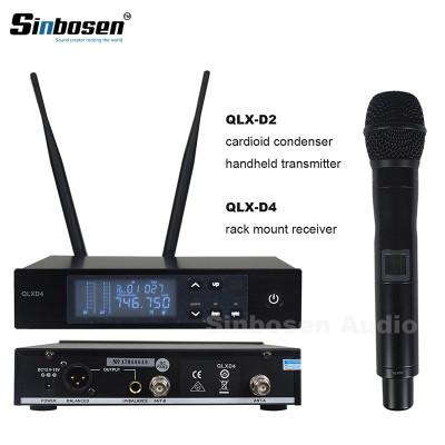 UHF Digital Single Wireless Handmikrofon System QLXD4 + QLXD2 / SM-58