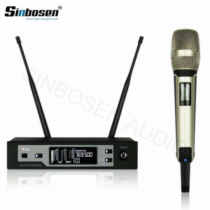 Professional Stage UHF True diversity Single Channel SKM9100 Headset Wireless Microphone