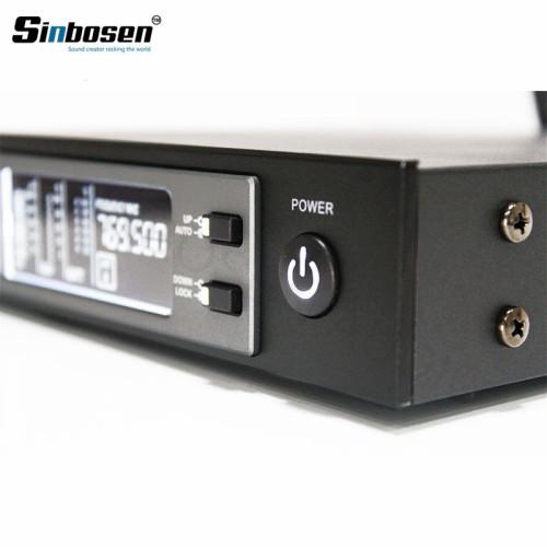 SKM9100 Trasmettitore da cintura per microfono wireless con clip a bavero