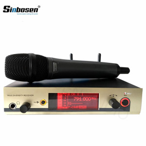 EW335 G3 cardioid handheld mic true diversity receiver Professional Microphone system