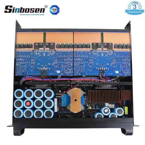 Sinbosen FP10000Q 2100w 4 canales versión mejorada amplificador de potencia profesional más potente