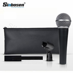 Professional high quality Wired Dynamic Moving Coil vocal instrument clone SM-58 lc Microphone