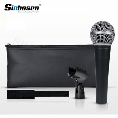 Professional high quality Wired Dynamic Moving Coil vocal instrument clone SM58 lc Microphone