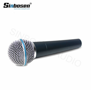 Professional Wired mic Dynamic Moving Coil vocal instrument Microphone Beta 58A