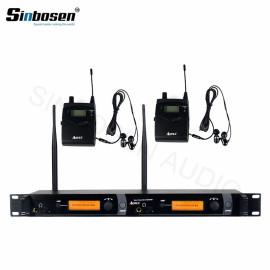 Kulak monitörü için profesyonel sahne sistemi Kulak monitöründe UHF bodypack SR2050 IEM