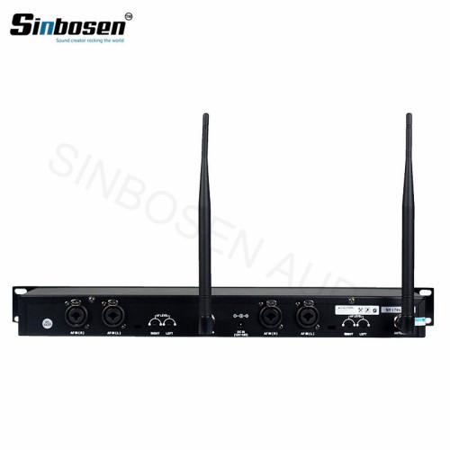Sistema de escenario profesional para cantantes UHF bodypack SR2050 IEM en monitor auditivo
