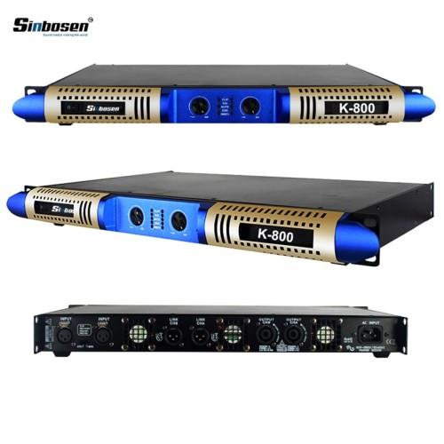 Klasse d 800 Watt 2-Kanal-Stereo-Audio-Digitalverstärker K-800