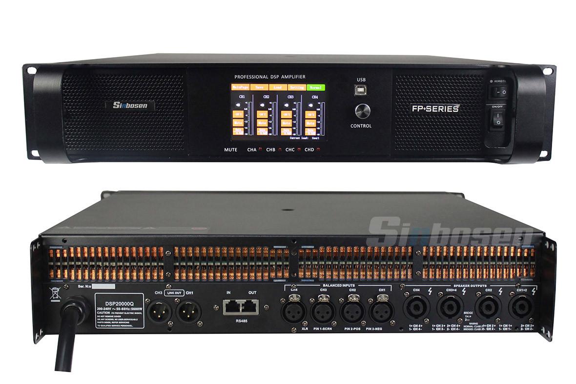 DSP20000Q amplifier
