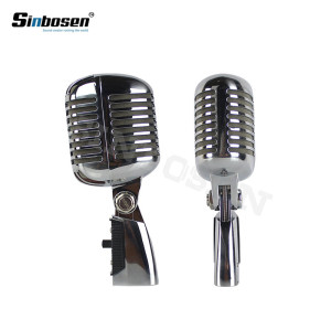 Professional live vocal dynamic wired mic classic KTV microphone 55SH Series