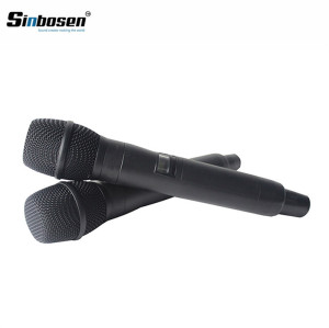 Latest UHF professional stage performance AXT 220D handheld digital wireless microphone headset