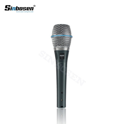 Professioneller Klon Beta 87a Studio Recording Sound Vokal-Supernieren-Kondensatormikrofon