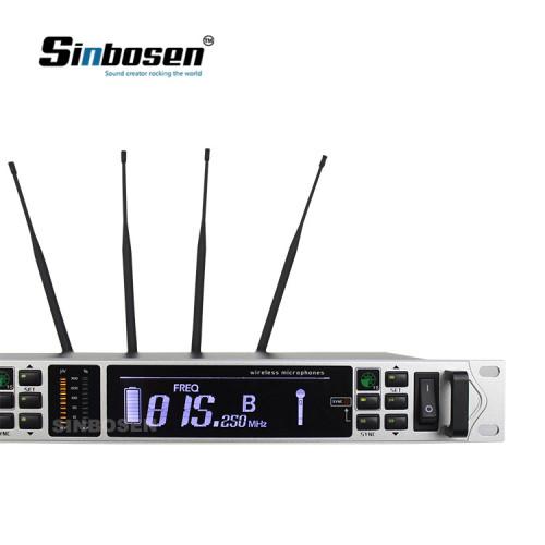 Cápsula de condensador de alta sensibilidad 100 metros de largo alcance AXT118D micrófono digital inalámbrico