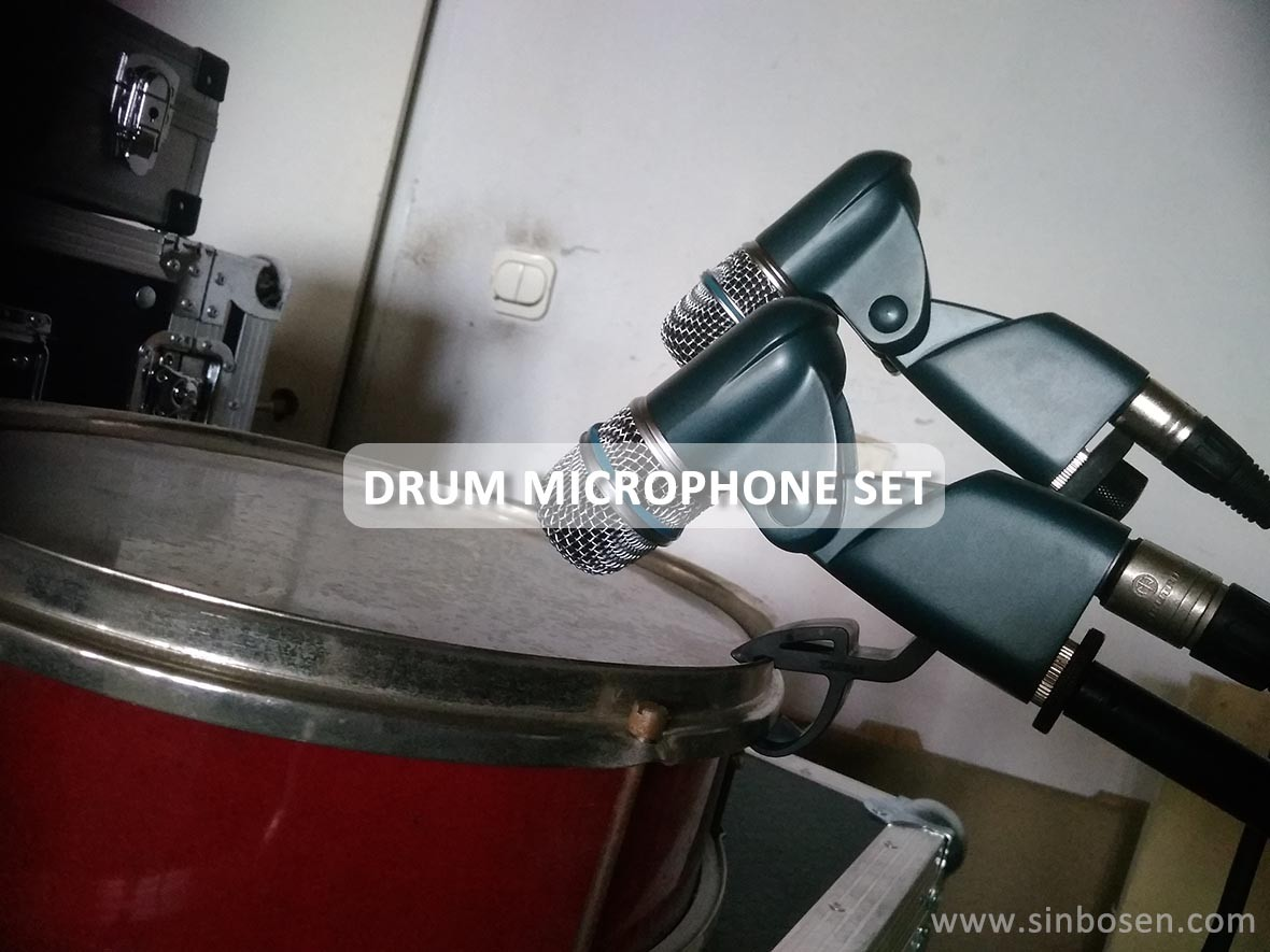 Drum microphone feedback