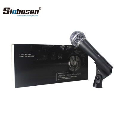 Clone SM58S Wired Microphone with power switch