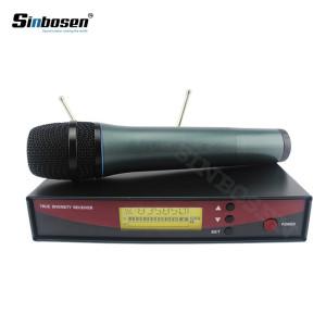 Sinbosen EW135 kablosuz Vokal mikrofon sistemi UHF el mikrofonları