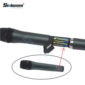 Sinbosen EW135 wireless Vocal mic system UHF handheld microphones for sale