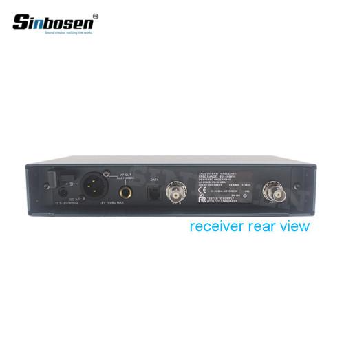 Sinbosen EW135 micrófonos de mano UHF inalámbricos de micrófono de mano para la venta