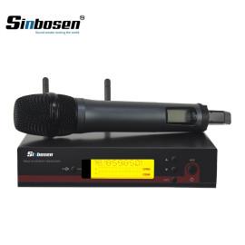 Sinbosen EW100 dinamik mikrofon müzik kablosuz el mikrofonu