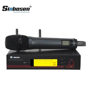 Sinbosen EW100 dynamic mic music wireless handheld microphone