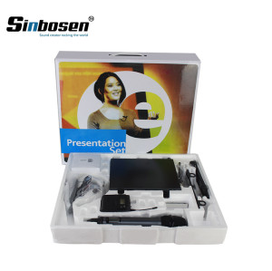 Sinbosen EW100 dynamic mic music wireless handheld microphone