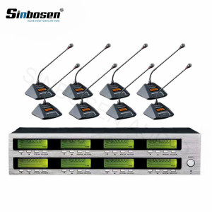 Sinbosen AT880 8 Meeting table Mics wireless conference table microphone