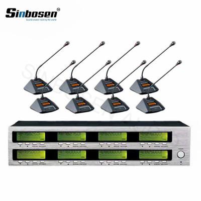 Sinbosen AT880 8 Besprechungstisch Mics Funk-Konferenztisch-Mikrofon