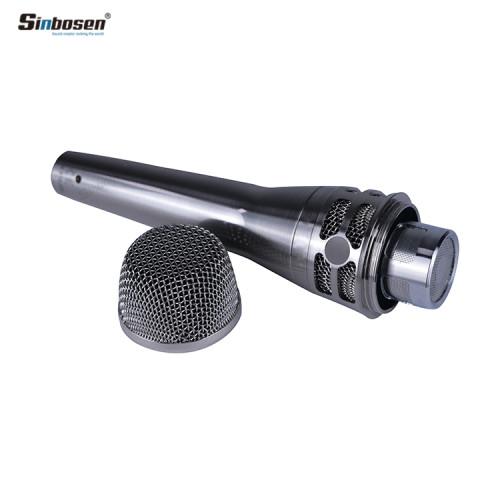 Sinbosen KSM8 Silver Dynamisches Handheld-Gesangsmikrofon für die Aufnahme
