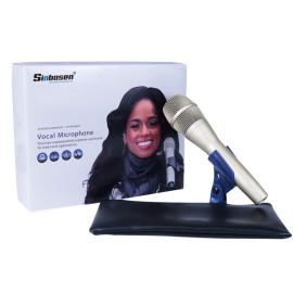 Sinbosen KSM9 Czarny mikrofon dynamiczny kardioidalny