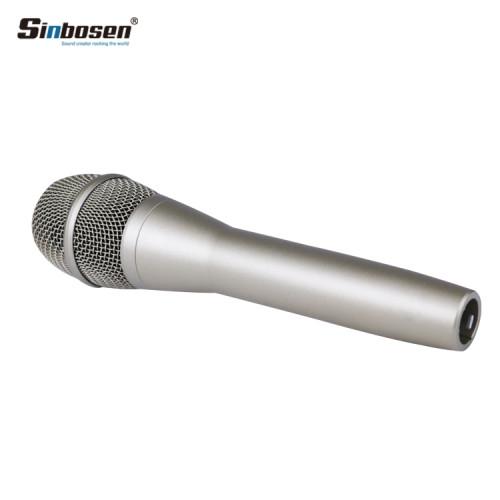 Micrófono de patrón dinámico de micrófono cardioide Sinbosen KSM9 negro