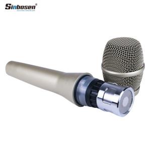Sinbosen KSM9 Microfono dinamico a micio cardioide nero