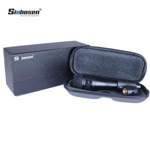 Sinbosen KSM8 bobina vocale dinamica per registrazione vocale nera