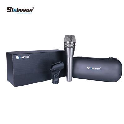 Micrófono vocal dinámico de mano KSM8 Sinbosen para grabación