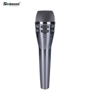 Sinbosen KSM8 Silver Vocal Microfono palmare dinamico per la registrazione