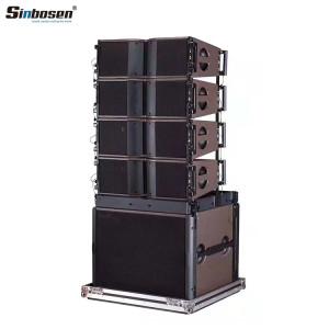 Sinbosen KA208+ KA18 18 inch subwoofer speaker line array system
