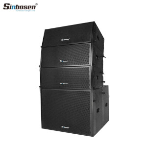 Sinbosen Dual 8 inch Professional audio pa system line array for sale SN2008 + SN18