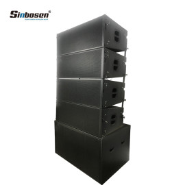 "Sinbosen line array 12""sound system outdoor speakers SN2012 +SN8028"