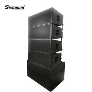 Sistema de sonido Sinbosen Altavoces line array para exteriores de 12