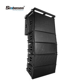 Sinbosen top 10 line array speakers 2x10 for church SN2010 +SN18