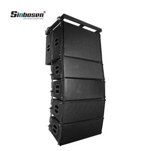 Sinbosen top 10 line array speakers 2x10 for church SN2010 +SN18