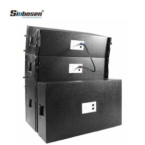 Sinbosen 2x10 top 10 line array speakers for church SN2010 +SN18